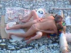 amateur, beach, public nudity