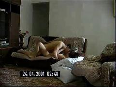 Hot russian milf fucks a younger guy