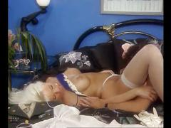 Beautiful busty blonde anal fucked and masturbating, helen duval