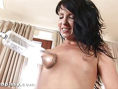 pissing, babe, piss, toys, pussy, euro, brunette, european, pussy pump, watersports, closeup, sex toys, wet and pissy, puffy network, jane