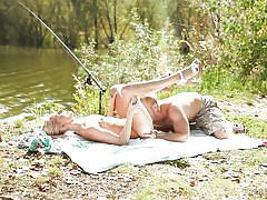 A romantic fishing trip