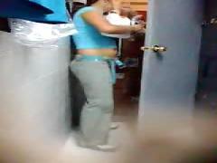 Hidden cam - girls at work