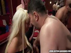 3 girls - british amateur girls gangbang swingers party