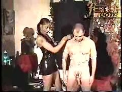 Black mistress and white slave