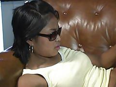 asian, amateur, blowjob, tube8.com, filipina, sunglasses, bbc, oral sex, couple, hairy, fingering, pussy, riding, cum in mouth