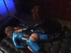 Two latex whores fuck!!! - by tlh