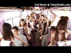 asian, bus, japan, japanese, oriental, public, public sex