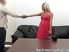 Pregnant milf anal threeway casting