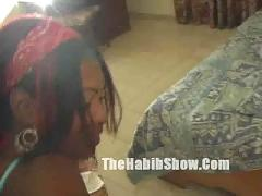 Dominican housewife cheatin with her lover