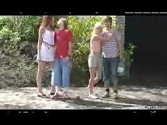 Amateur teens - outdoor