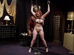 bondage, femdom, hd videos, lesbians, strapon, lesbian anal