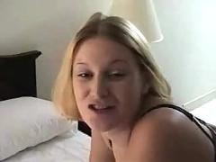 Pregnant blonde first time anal