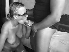 Bikini girl fucking and blowing