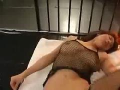 A sexy japanese chick gets fucked