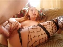 Baby girl tries anal