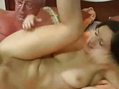 French daughter taboo family sex with old dad from france.