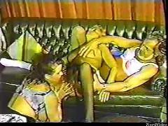 Old clip threesome