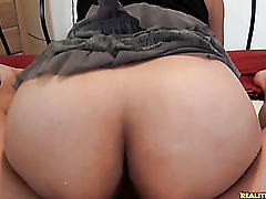 Elana gets her pussy pounded from behind as her thick juicy ass is in the air.