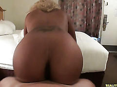 Tara redd rides that cock like a champ as her juicy ass bounces.