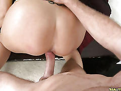 Syren goes crazy for that cock as she is getting her pussy pounded.