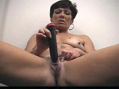 Mature and dildo & great bj. c5m