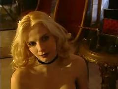 Masked beauty impaled by silver bullet
