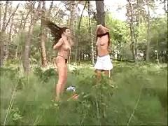 Sexadventure in the wood