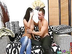 Couple satisfies anal fantasies