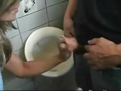 Wife sucking strangers cock