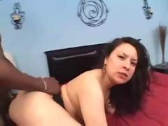 Fat booty bitch rammed with black dick 4