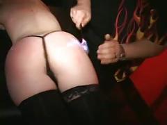 Blonde milf loves fireplay pyrosadist burns her buns