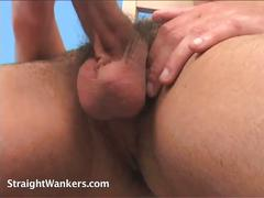 Fit straight lad ross blows load in solo