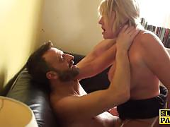 Pascals subsluts blonde amateur gets her pussy...
