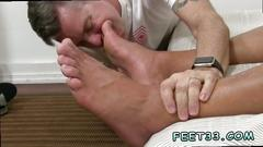 Gay sucking toes movie and young boys sexy ass feet alphamale atlas worshiped