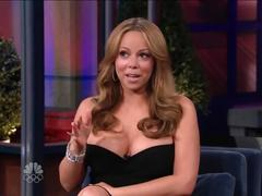 celebrity, milf, music, mom, mother, celeb, mariah carey, hot, sexy, interview, body, boobs, dress, classy, cleavage, curvy