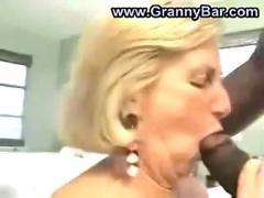 Granny enjoys two black 00