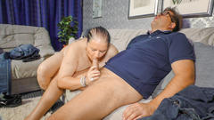 Xxx omas - bbw german granny with massive tits gets her plumpy pussy fucked