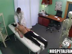 Yummy brunette patient gets massaged and felt upd by deep penetration 720 2