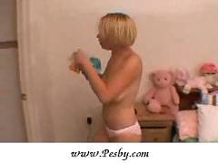 Missy tries on different panties
