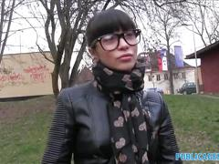 public, reality, pov, russian, exclusive, publicagent, point-of-view, outdoors, outside, real, home-made, amateur, blowjob, glasses, cumshot, big-cock, brunette, czech, big-tits, dsl