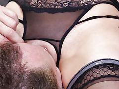 babe, stockings, blowjob, face sitting, pussy licking, tattooed, riding cock, 69 position, bskow, alec knight, scarlet de sade
