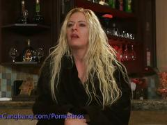Blonde talks about her gang bang experience
