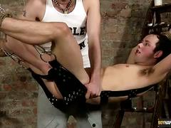 Ethan gets tortured and sling fucked