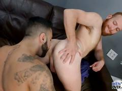Steven ponce takes rikk york's cock at men over 30