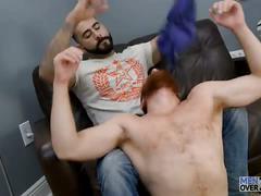 Steven ponce takes rikk york's cock at men over 30