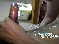Amateur black stud fucking with his white friends.