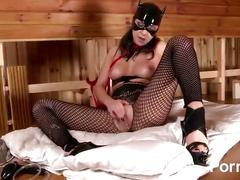 Latex lucy the british dominatrix 1 best of - scene 2