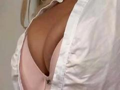 Hot big-titted mature blonde rachel