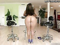 Latina pornstar jessie rogers bangs