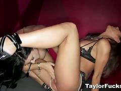 Hot taylor vixen fucks with a lesbian friend